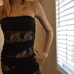 Strapless sexy dress size small